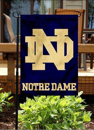 University of Notre Dame Garden Flag