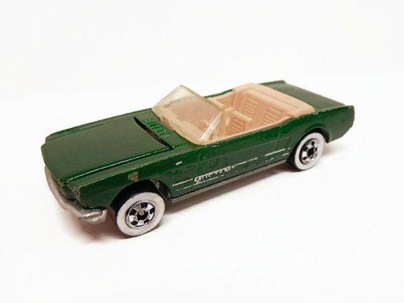 1983 Hot Wheels Green Mustang Convertible By