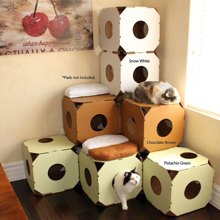 Catty Stacks Designer Cat Climbers Cat Furniture