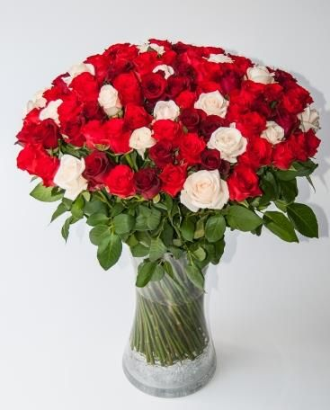 Starry night (100 roses)  Spectacular rose bouquet!  Bespoke Bouquet, Flower delivery service, Johannesburg