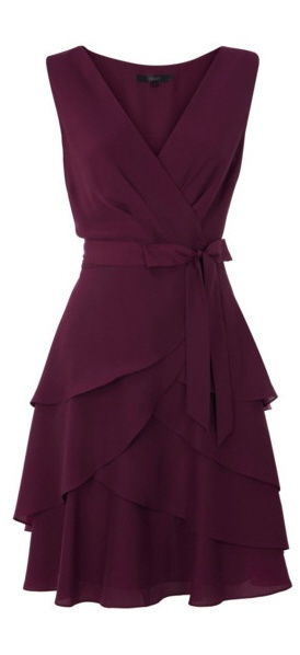 This is a pretty purple dress!