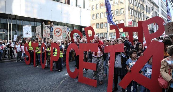 Η ΑΠΟΚΑΛΥΨΗ ΤΟΥ ΕΝΑΤΟΥ ΚΥΜΑΤΟΣ: Υπογράψαμε τη CETA, με άμεση ισχύ