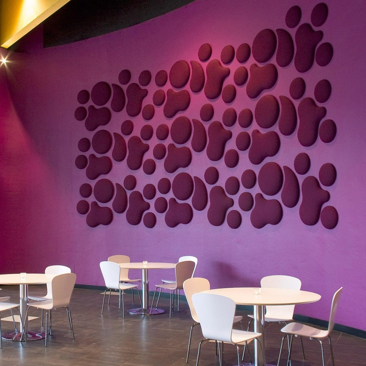 Acoustical Wall Décor In Office Environment · Sound ProofingOffice  EnvironmentPurple FurnitureOffice ... Gallery