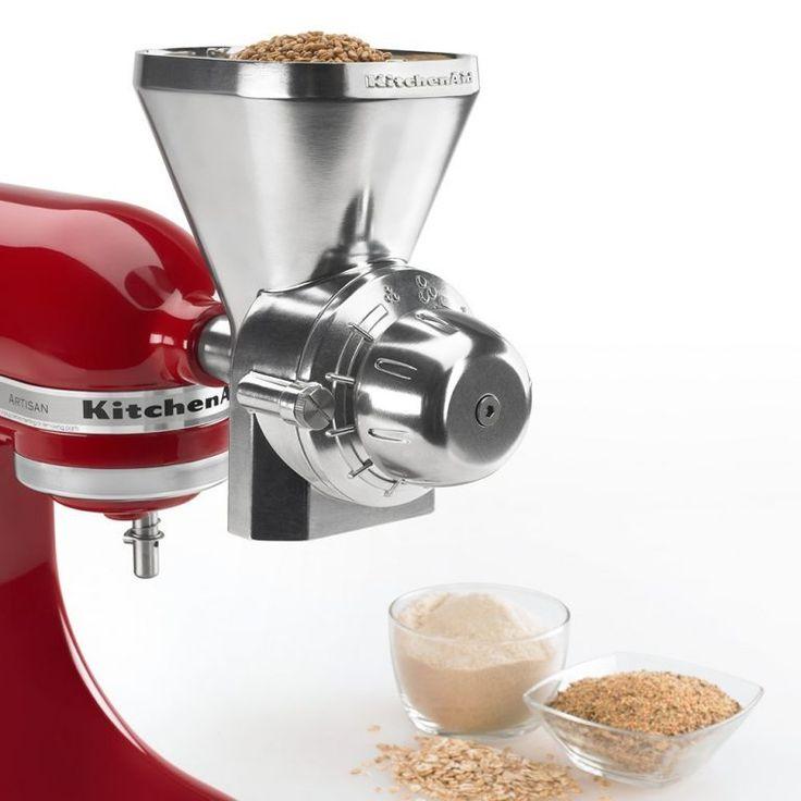 kitchenaid grain mill attachment coffee
