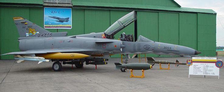 IAI Kfir de la Fuerza Aerea de Colombia