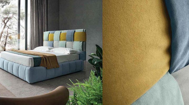 Modern ágy Tiffany - www.montegrappamoblili.hu