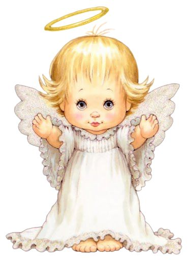 Cute Little Angel PNG Picture