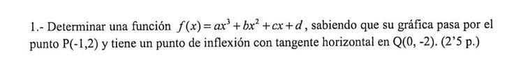 Ejercicio 1B 2009-2010 Setiembre Fase Específica. Propuesto en examen pau de Canarias. Matemática. Continuidad, derivabilidad y representación de funciones. Límites.