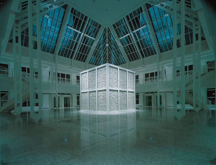 5 Kontinente Skulptur, Walter de Maria 1989 - Daimler Art Collection