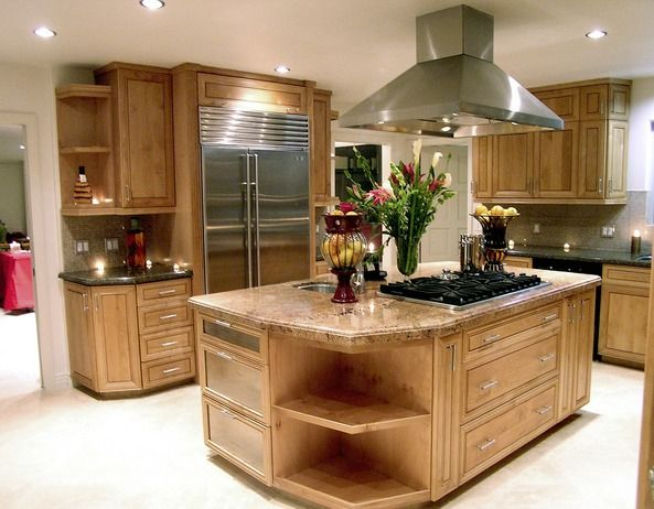 103 best Kitchen Island with Stove images on Pinterest Home