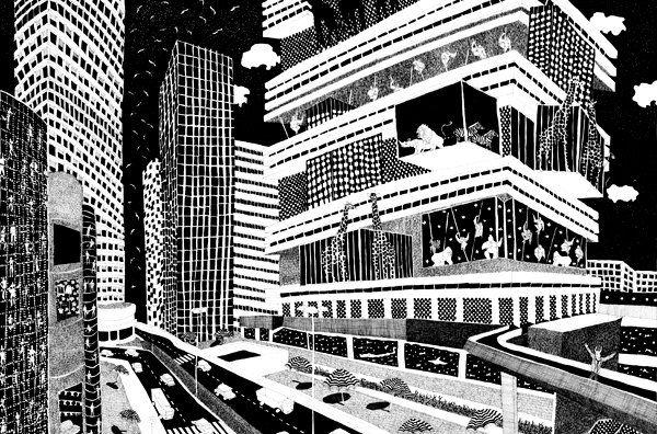 Arquitectura, cómic