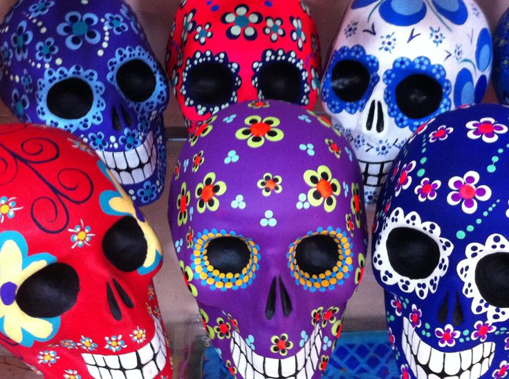 Day of the Dead sugar skulls - from Mexico. Photo: Amanda Young