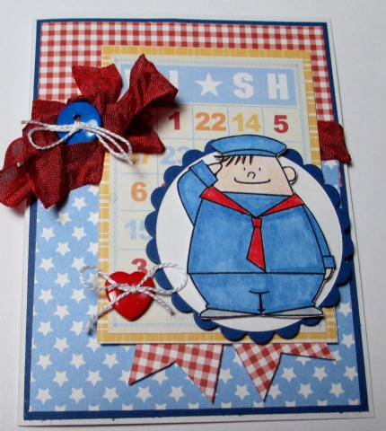 Birthday Wishes For Your Sailor Boy by LoveInBloomCreations, $3.00
