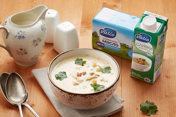 Сливочный суп c курицей и овощами - пошаговый рецепт приготовления с фото