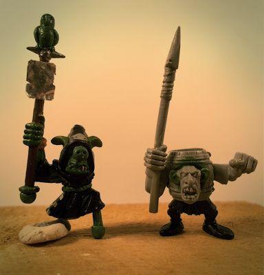 Freak Brush: Mordheim freaky characters