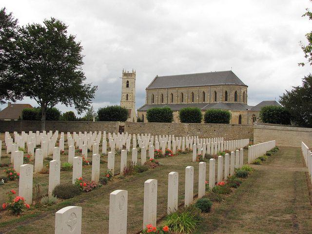 Ranville war Cemetery by Battlefield Historian, via Flickr