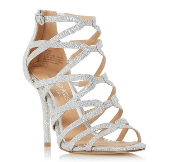 Head Over Heels Memi caged sandals – Its All About Girls