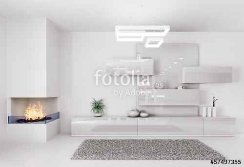 """Pobierz zdjęcie royalty free  """"White room interior"""" autorstwa Vadim…"""