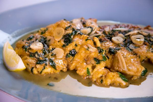 """""""CHICKEN FRANCAISE'  Michael Symon's on the chew****Note: Add Mushrooms to this..delicious!"""
