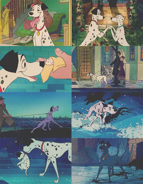 My love for dogs started at a young age. 101 dalmations