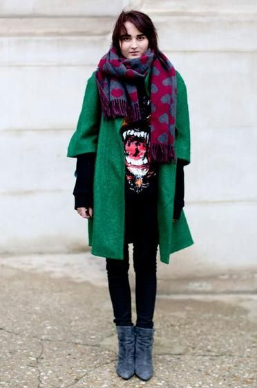 50 Fall Outfits To Copy | StyleCaster Love this combination!