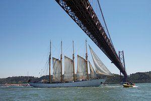The Portuguese ship Creoula