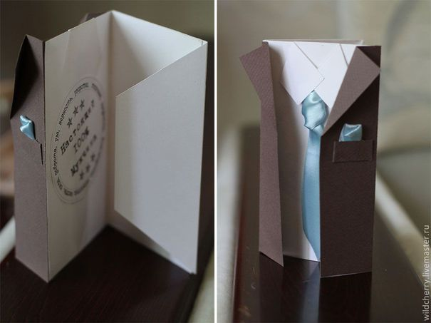 Открытка конверт с днем рождения своими руками мужчине, королеве веселые