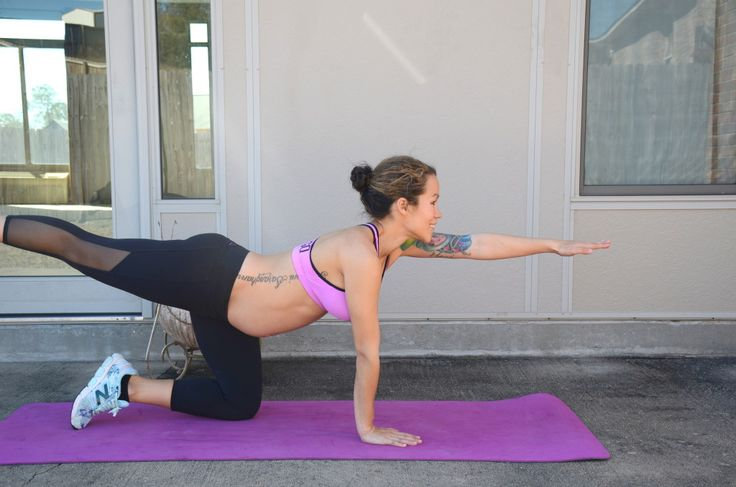 7 ab exercises for pregnancy that are safe and can be done from home. Video of t...