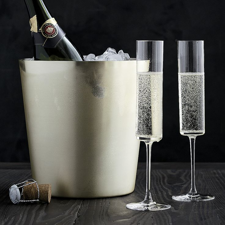 Free Shipping.  Shop Edge Champagne Glass.  A tall, cylindrical bowl with a flat base has a dramatic, contemporary look that lends an elegant edge to the enjoyment of bubbly.