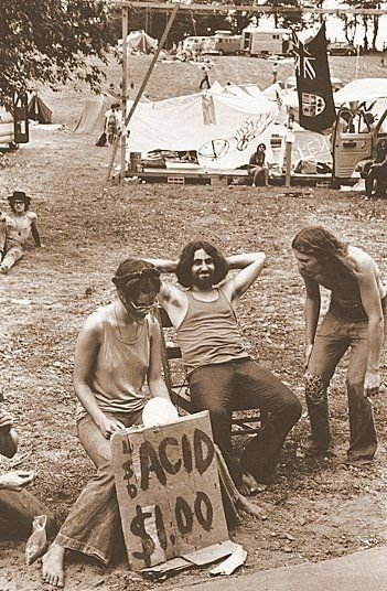 """Woodstock: """"The 60's are gone, dope will never be as cheap, sex never as free, and the rock and roll never as great."""" - Abbie Hoffman 