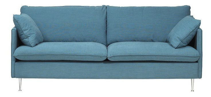 6999,- http://unoliving.com/milan-sofa-3-pers-turkis Milan Sofa - 3 pers - Turkis - Turkis 3-personers sofa