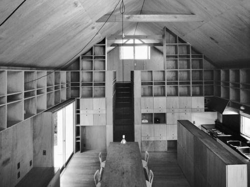 Kazunari Sakamoto - Lake house, Nago 1978. Via.