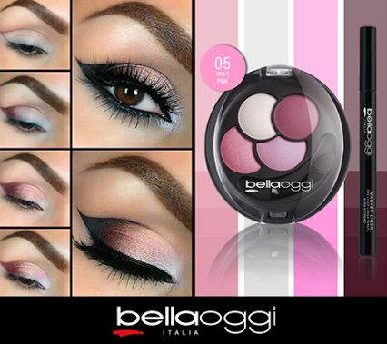 The Baked technology of Bella Oggi - Gli  L'Ombretto contains an innovative blend of oil that dons't dry the skin makes precision application easy and provides a intense and bright pigment of long duration. An incredible combination and sophisticated colors. Made in Italy