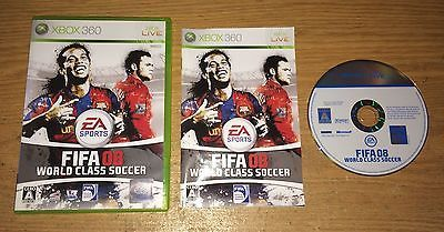 FIFA 08: World Class Soccer Xbox 360 Game Complete Fun Japan Import Games