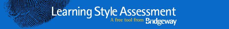 Learning Style Asssessment {Bridgeway Academy}
