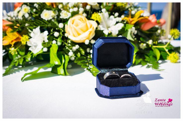 Beautiful wedding rings!