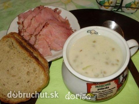 Fotorecept: Šošovicová polievka kyslá