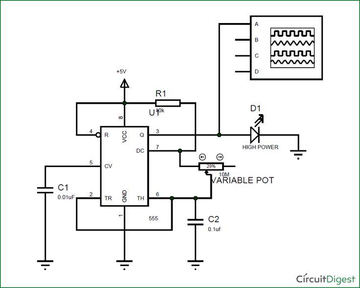 Pin on 555 Timer Circuits