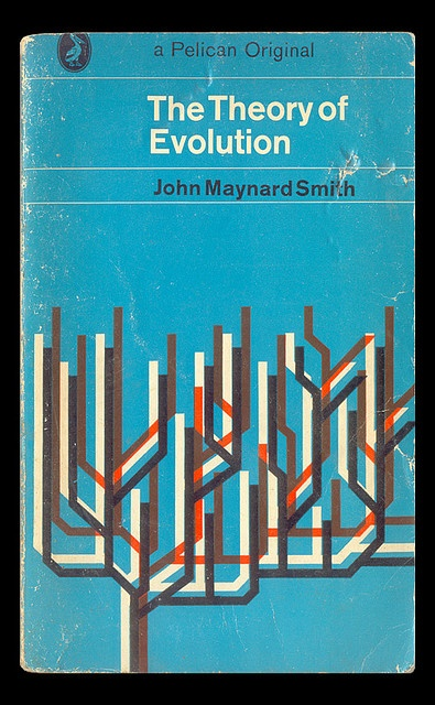 The Theory of Evolution by 100kr, via Flickr: Books Covers, Books Pages, Maynard Smith, Graphicdesign, Graphics Design, John Maynard, Photos Shared, Books Cyberpunk Scientific, Books Cyberpunkscientif
