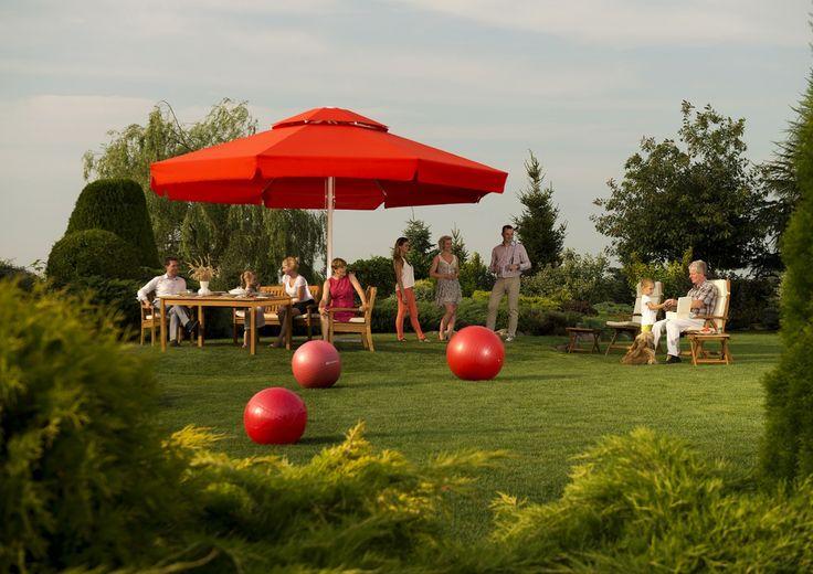 Parasol ogrodowy VESUVIO - prod. Litex (meble ogrodowe, parasole ogrodowe, parasol ogrodowy, parasol, meble tarasowe, zadaszenie tarasu, parasol do ogrodu, parasole do ogrodu, Garden Space)