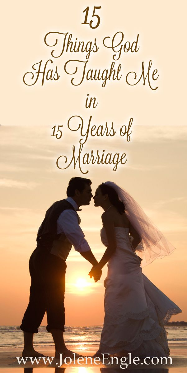 15 Things the Lord Has Taught Me in My 15 Years of Marriage
