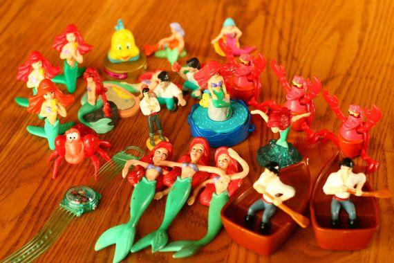 1990 S Toys : Off sale vintage s little mermaid collection mc