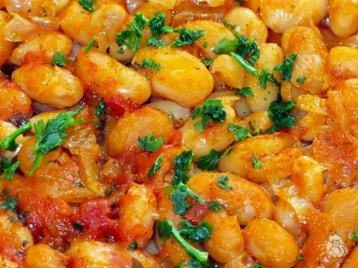 Пребранац – запеченная фасоль по-сербски, очень простое постное блюдо из фасоли, но одновременно с очень богатым насыщенным вкусом. Пошаговый рецепт с фото.
