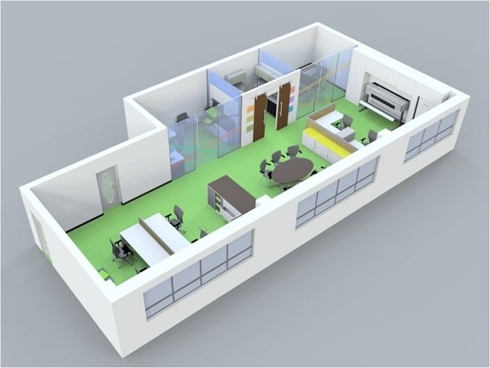 Tips on how to lay out your office space!