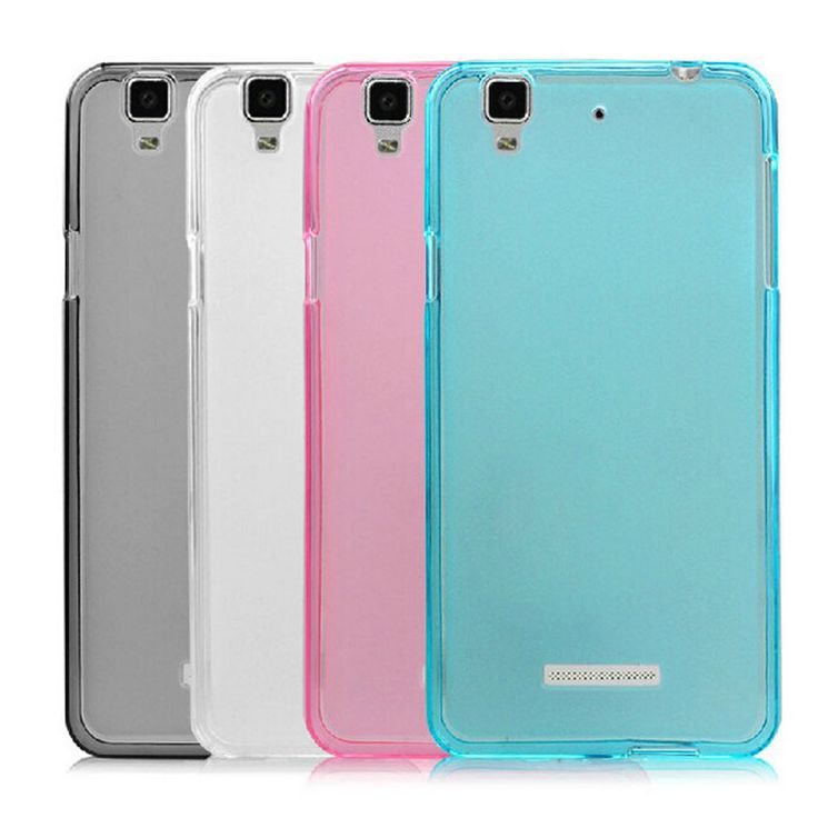 Fashion Colorful Case For Huawei H60-L04 Soft TPU Case Half Of Transparent Back Cover For Huawei H60-L04