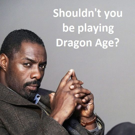 Idris Elba #Dragon Age