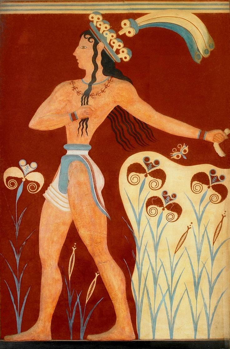 Οι τοιχογραφίες της Κνωσού μαςαποκαλύπτουν…