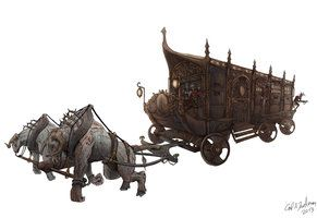fantasy carriage - Google Search