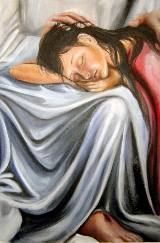 """Matthew 11:28-30 """"Come to me, all who are tired from carrying heavy loads, and I will give you rest. Place my yoke over your shoulders, and learn from me, because I am gentle and humble. Then you will find rest for yourselves because my yoke is easy and my burden is light."""" https://www.biblegateway.com/quicksearch/?quicksearch=come+to+me+all+who+are+weary&qs_version=GW"""