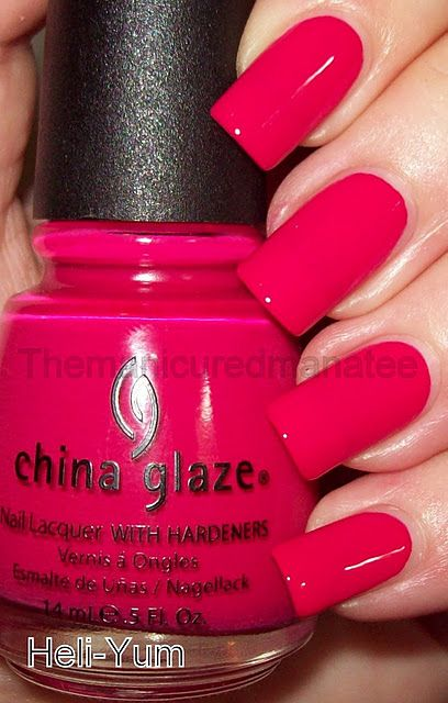 China Glaze Heli Yum | #EssentialBeautySwatches | BeautyBay.com